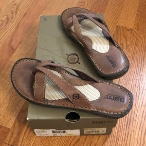 New Susanna Born Leather Flip Flops / Sandals